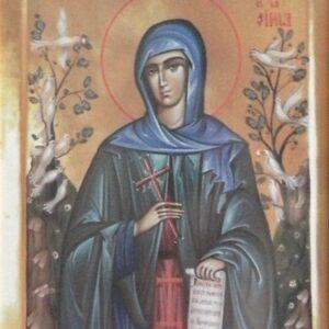 Icoana Sfanta Teodora de la Sihla
