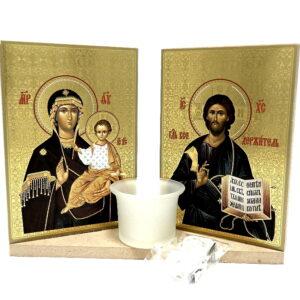 icoane set Maica cu Iisus