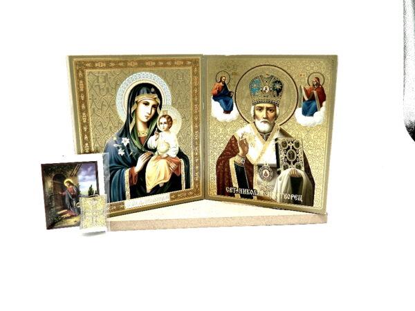set icoane Maica Domnului si Sfantul Nicolaie
