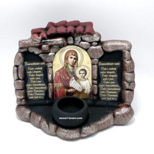 candela ceramica Maica Domnului