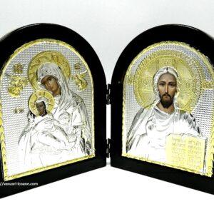 icoane diptic Maica si Iisus