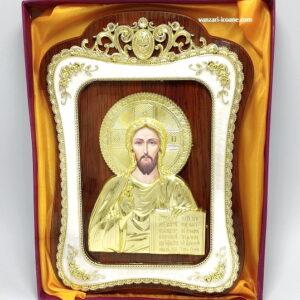icoana ortodoxa pe lemn Iisus