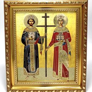 Icoana Sfinților Împărați Constantin și Elena