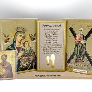 icoane binecuvantarea cu Maica si Sfantul Andrei