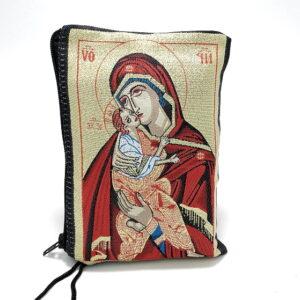 portofel cu icoana Maicii domnului